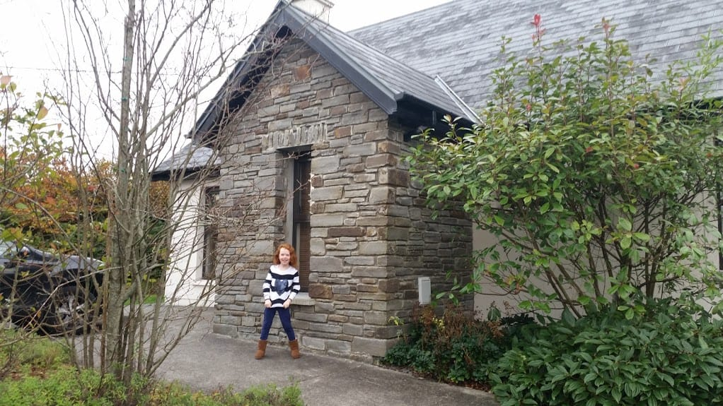 Kenmare Bay Hotel Luxury 2 bed lodge from outside - Office Mum