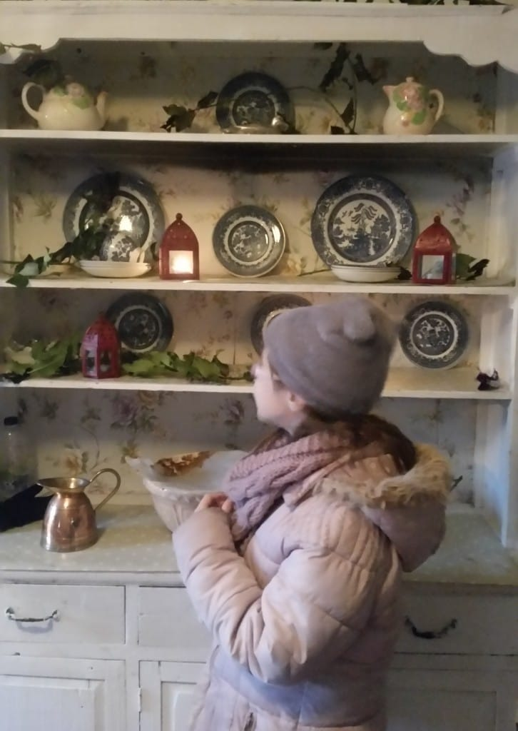 Dresser in Christmas Cottage - Causey Farm
